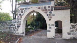 Portal an der Dorfkirche